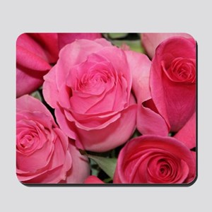 Catherine's pink roses Mousepad
