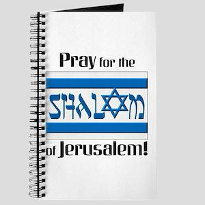 Pray Shalom of Jerusalem Journal