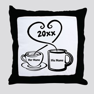 Personalize It Throw Pillow