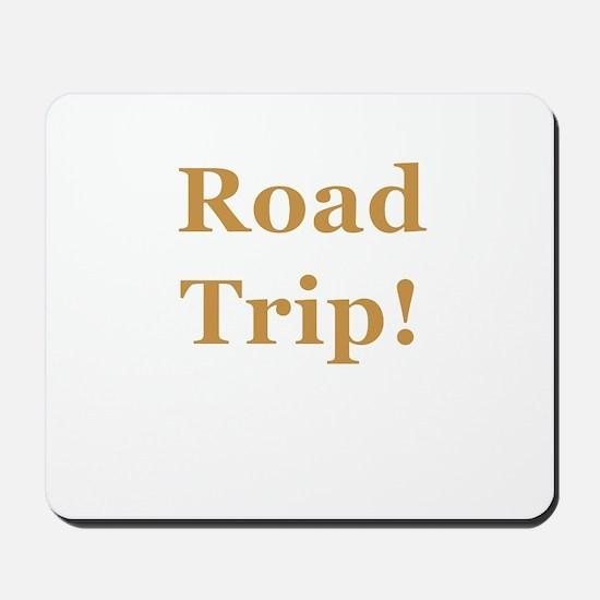 Road Trip! Mousepad