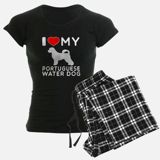 I Love My Dog Portuguese Water Dog Pajamas