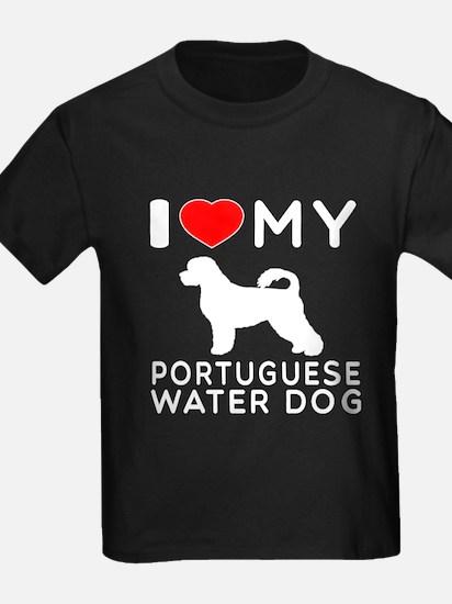 I Love My Dog Portuguese Water Dog T