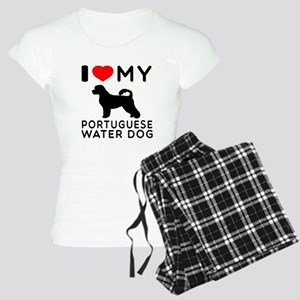 I Love My Dog Portuguese Water Dog Women's Light P