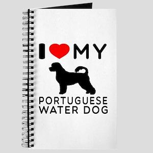 I Love My Dog Portuguese Water Dog Journal