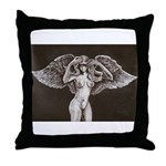 Passionate Angel Throw Pillow