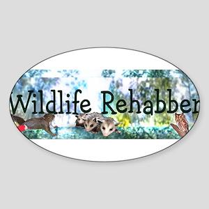 Wild Rehabber Bumper Sticker