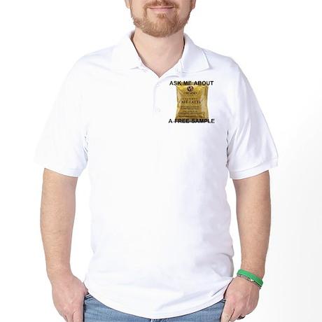 Latte Sample Golf Shirt