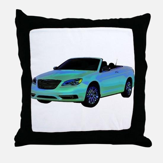 Chrysler 200 Convertible Throw Pillow