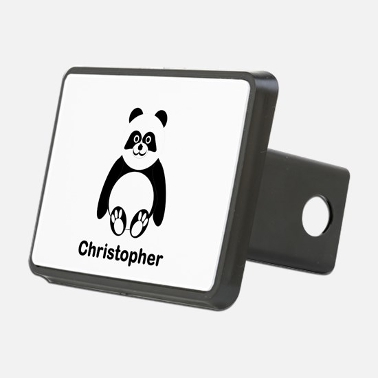Personalized Panda Bear Hitch Cover
