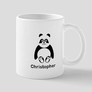 Personalized Panda Bear Mugs