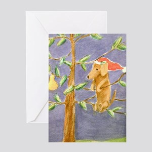 Christmas Dachshund Greeting Cards