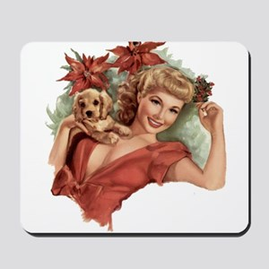 A Lovely Holiday Mousepad