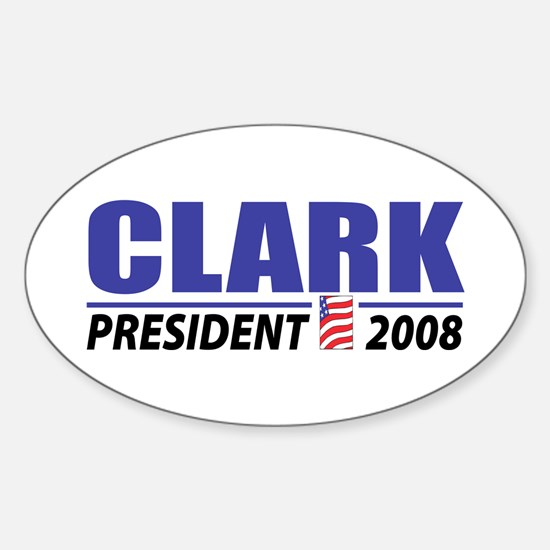 Clark 2008 Oval Decal