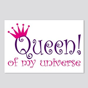 Queen of my Universe Postcards (Package of 8)
