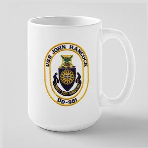 USS JOHN HANCOCK Mugs