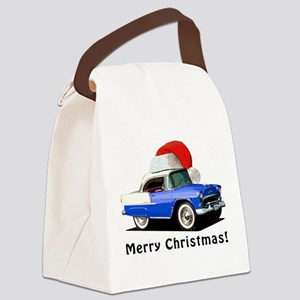 BabyAmericanMuscleCar_55BAXmas_Blue Canvas Lunch B