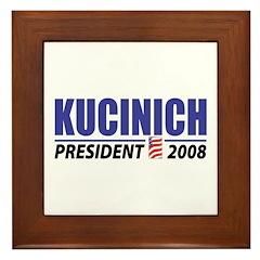 Kucinich 2008 Framed Tile