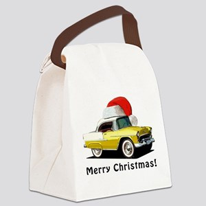 BabyAmericanMuscleCar_55BAXmas_yellow Canvas Lunch