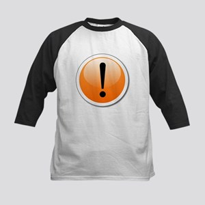 Exclamation Point Button Baseball Jersey