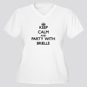 Keep Calm and Party with Brielle Plus Size T-Shirt