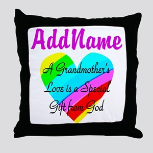 GRANDMA'S LOVE Throw Pillow