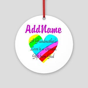 GRANDMA'S LOVE Ornament (Round)