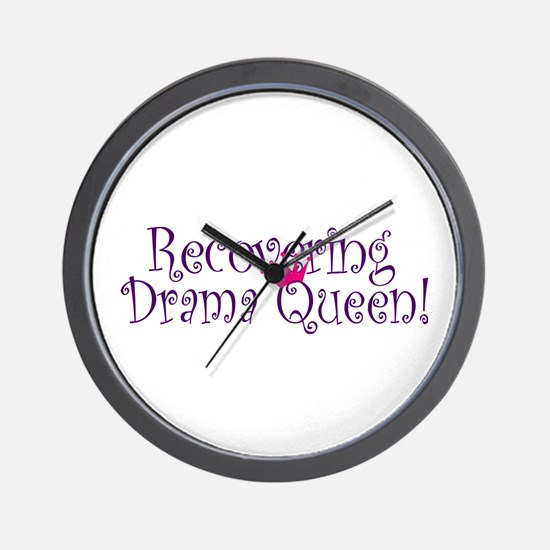 Recovering Queen Wall Clock