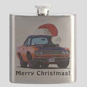 BabyAmericanMuscleCar_69_RoadR_Orange Flask