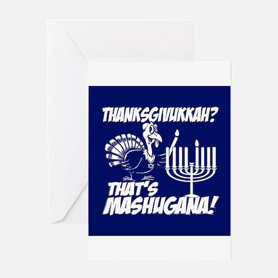 Thanksgivukkah Thats Mashugana Greeting Cards