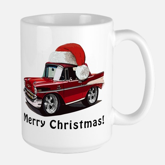 BabyAmericanMuscleCar_57BelR_Xmas_Red Mugs