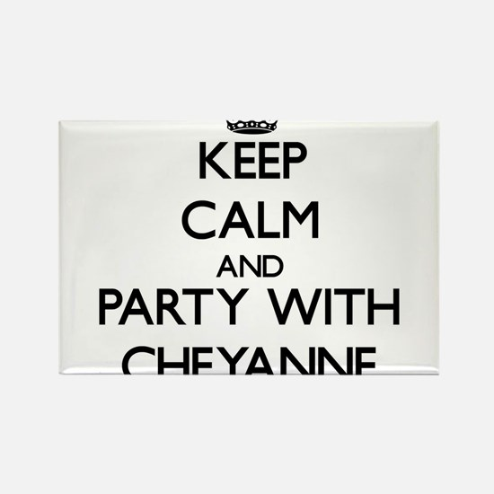 Keep Calm and Party with Cheyanne Magnets