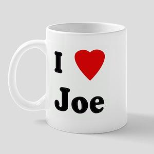 I Love Joe Mug
