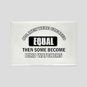 Bird Watchers Design Rectangle Magnet