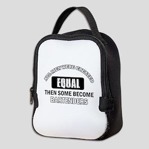 Bartenders Design Neoprene Lunch Bag