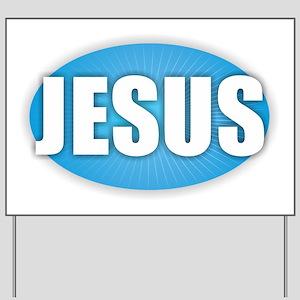 Jesus - Bold Yard Sign