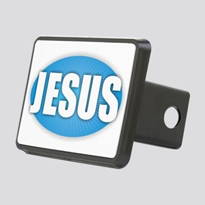 Jesus - Bold Rectangular Hitch Cover