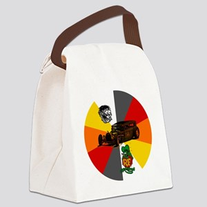 Rat Fink, Rat Rod Canvas Lunch Bag