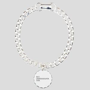 Best Granddaughter Ever Charm Bracelet, One Charm