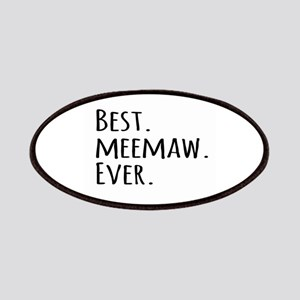 Best Meemaw Ever Patches