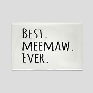 Best Meemaw Ever Magnets