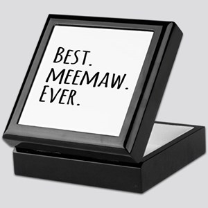 Best Meemaw Ever Keepsake Box