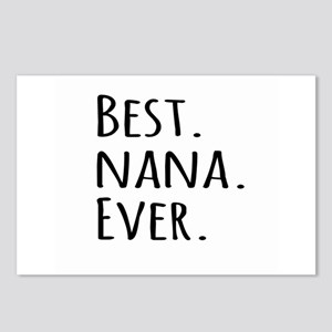 Best Nana Ever Postcards (Package of 8)