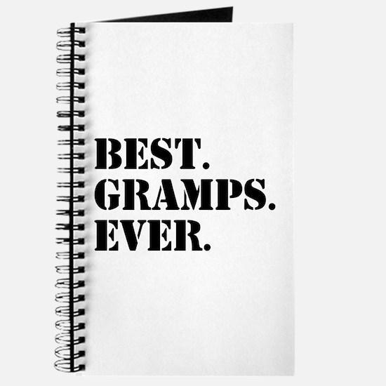 Best Gramps Ever Journal