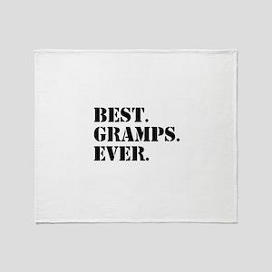 Best Gramps Ever Throw Blanket