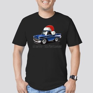 BabyAmericanMuscleCar_57BelR_Xmas_Blue T-Shirt