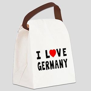 I Love Ghana Canvas Lunch Bag