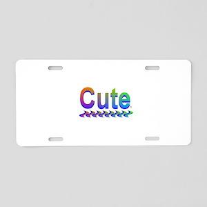Cute Aluminum License Plate