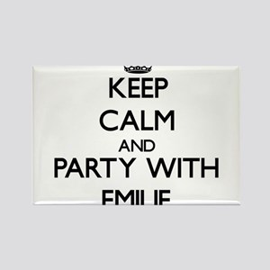 Keep Calm and Party with Emilie Magnets