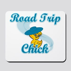 Road Trip Chick #3 Mousepad