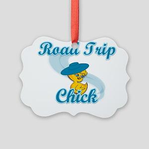 Road Trip Chick #3 Picture Ornament